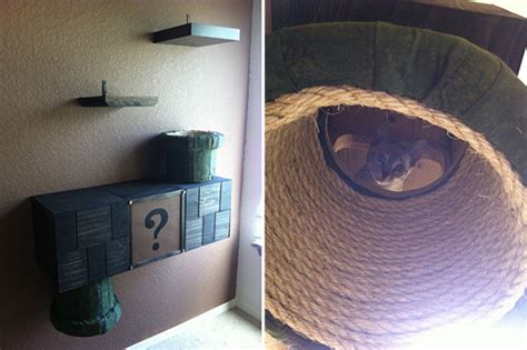 Mario Cat Shelf by Mario Brothers Cat Complex Other Awesome Cat