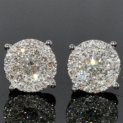 Black Diamond Earrings For Boys images