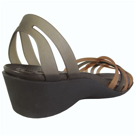 Huarache Mini Wedge crocs womens huarache mini wedge sandal shoes ebay