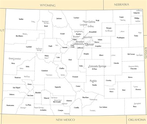 map of cities in colorado hover to zoom map click on the colorado cities and towns