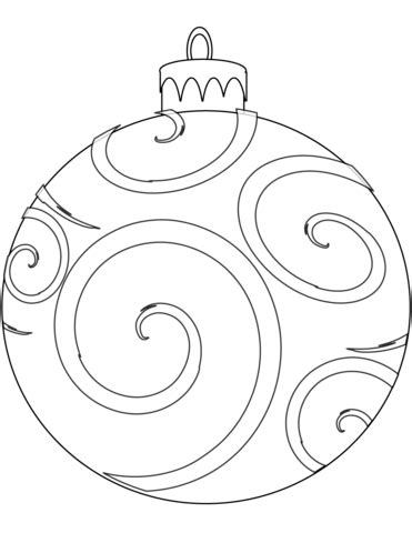 christmas ornament tree to color ornament coloring page free printable coloring pages