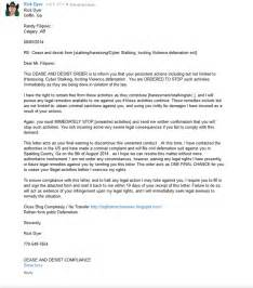 cease and desist letter harassment template cease and desist letter harassment itubeapp net