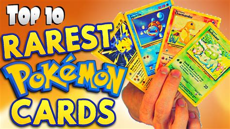 What Is The Best Gift Card - top 10 rarest pok 233 mon cards youtube