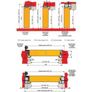 composition porte coupe 1 tableau isolant thermique