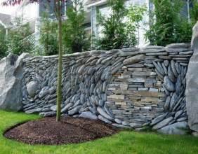 creative stacked stone wall ideas home design garden amp architecture blog magazine