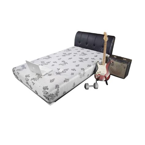Serta Set Kasur Bed Perfection 160x200 jual central sporty silver kasur springbed set x1