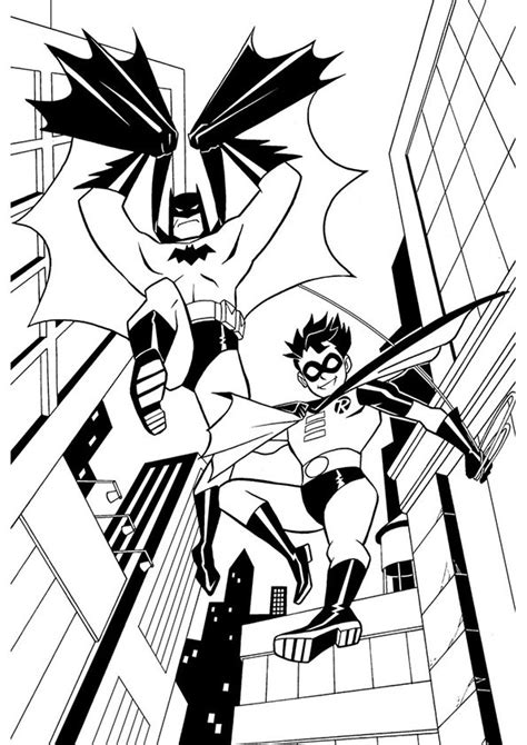 batman robin free coloring pages art coloring pages