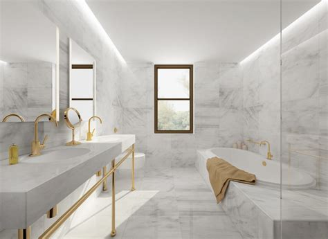 white carrara marble bathroom carrara marble tile white bathroom design ideas modern
