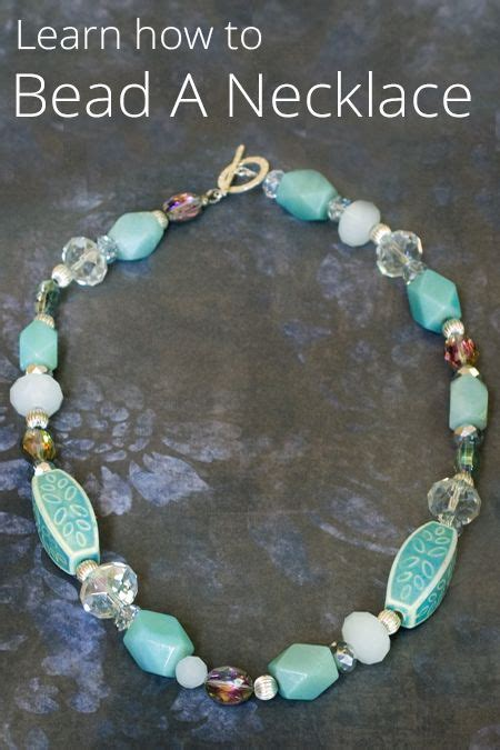 how to learn jewelry diy jewelry learn how to bead a necklace with this
