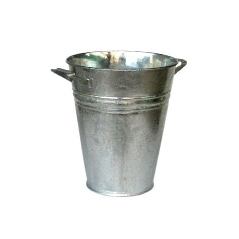 Galvanized Vase by Galvanized Vase With Handles 248 320 H 280 Mm Ebb And Flow