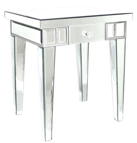 mirrored side table cheap mirrored l table nicholas john interiors