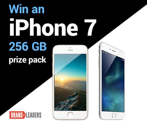 Easy Competitions To Win Money 2017 - win an iphone 7 256gb prize pack winstuff