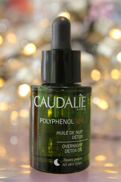 Caudalie Polyphenol C15 Overnight Detox Discontinued by Caudalie Oils Review Giveaway Fleur De