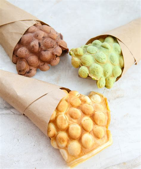 Egg Waffle by Egg Waffle Cones Kirbie S Cravings