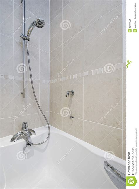 bathtub spa attachment shower attachment detail stock image image of ceramic