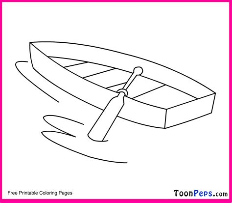 boat drawing for kids free coloring pages of simple drawing of boat