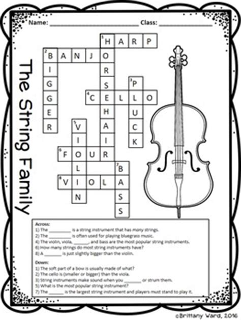 printable music lesson plans instruments of the orchestra instrument families worksheets tpt