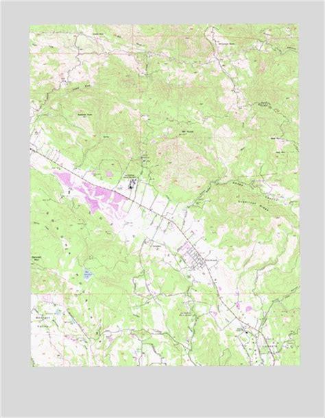 kenwood california map kenwood ca topographic map topoquest