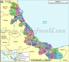 Veracruz Mexico Map by Veracruz Map Veracruz Mexico