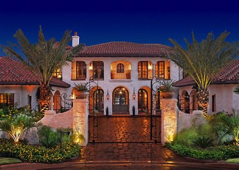 mediterranean style exquisite mediterranean style residence on lake