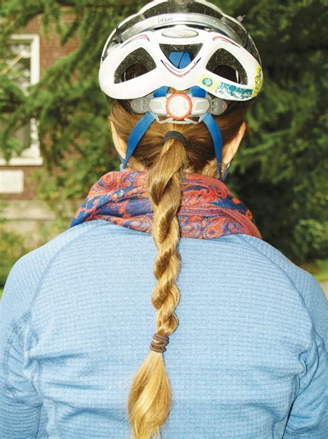 helmet hair cycling women bike helmet hair cascade bicycle club