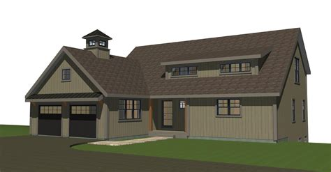 small barn homes plans small barn house new ybh home plans