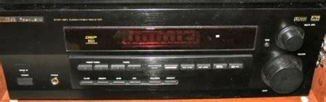 rca pro series audio video  receiver stav