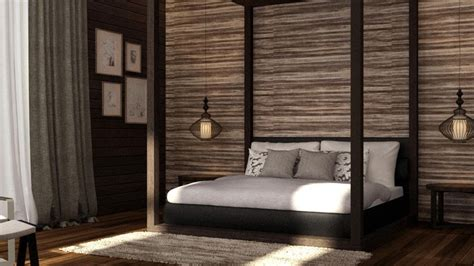 balinese style bedroom design ps generated