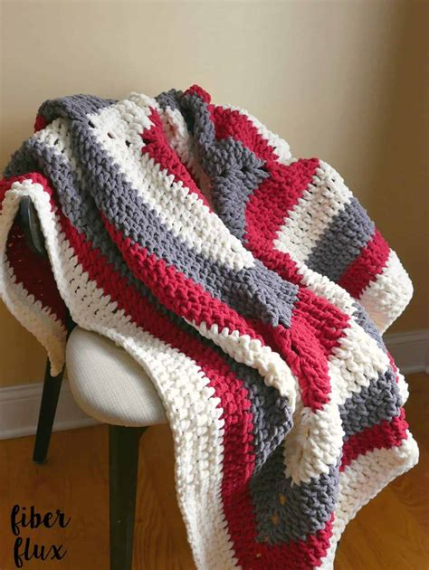 Crochet Blanket Pattern by 20 Awesome Crochet Blanket Patterns For Beginners Ideal Me