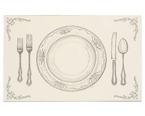 perfect setting placemats serveware entertaining table dining uncommongoods
