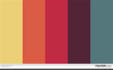 Bold Colours | 20 bold color palettes to try this month august 2015