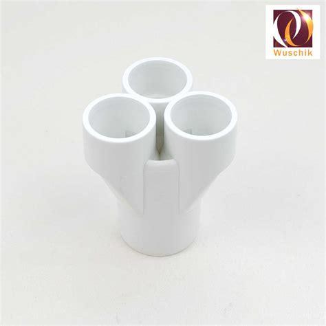 pipe distributor splitter  mm    mm pvc fitting