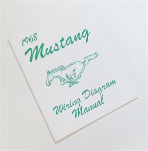 1968 mustang wiring diagram manual wiring diagram manual