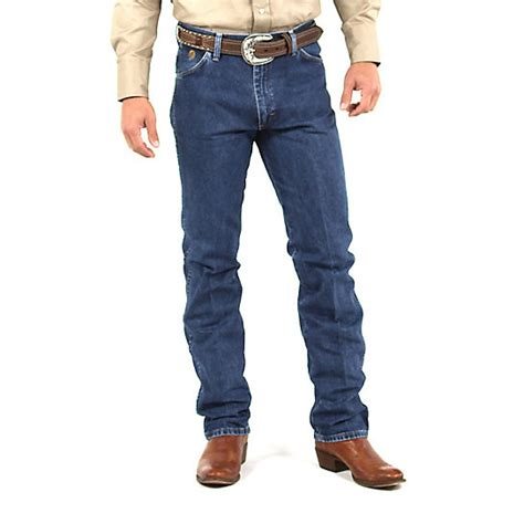 Wrangler Slim Fit George Strait Cowboy Cut 174 Slim Fit Jean Mens By