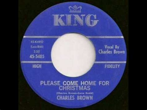 charles brown come home for