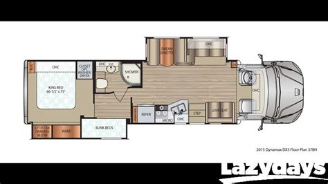 dynamax rv floor plans 2015 dynamax dx3 37bhhd for sale in denver co lazydays