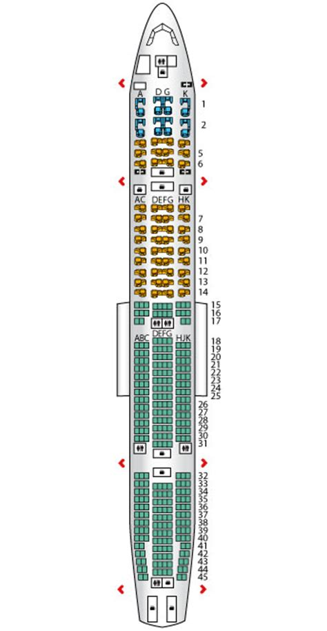 etihad airways business class seating plan pearl business b777 300er config 2 etihad airways