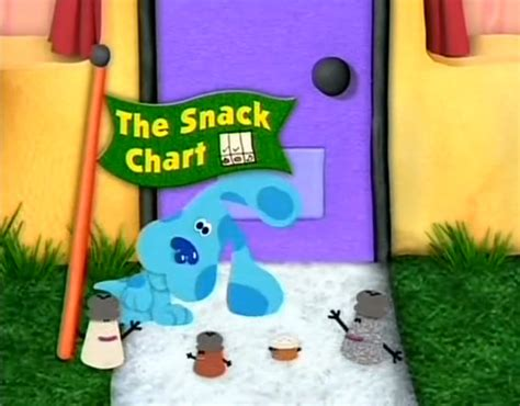 boat song clue the snack chart blue s clues wiki fandom powered by wikia