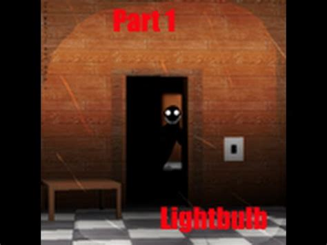 lets play hide and seek  light bulb (roblox horror game