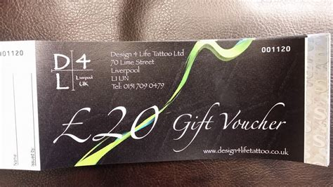 tattoo removal voucher professional piercing studio liverpool 163 20 gift