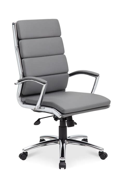 Office Chair Back Design Ideas High Back Gray Office Chair By Cole Designs Hom Furniture