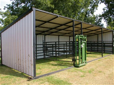 Calf Sheds For Sale by Gate Cattle Building Barn W Overhang Cattle