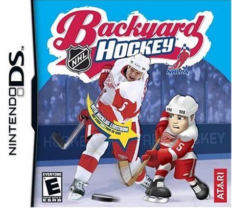 backyard hockey pc backyard hockey release date ds pc
