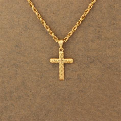 cross necklaces gold crosses religious jewelry wedding
