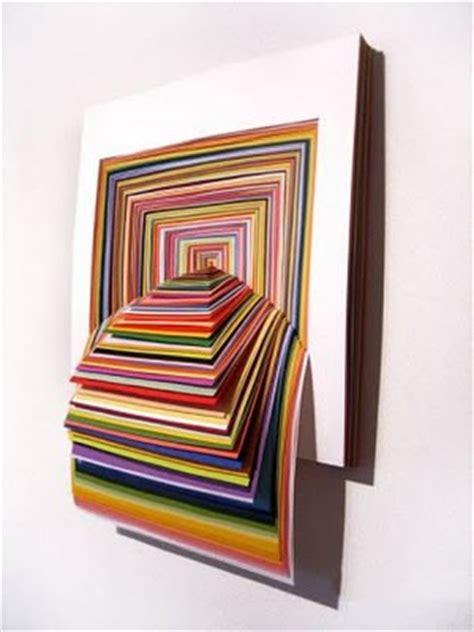 amazing 3d construction paper sculptures art ~ amazing arts