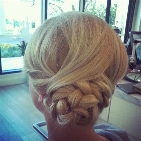 updo hairstyles knotted braid beautiful knotted braid upstyle upstyle updo hairstyle