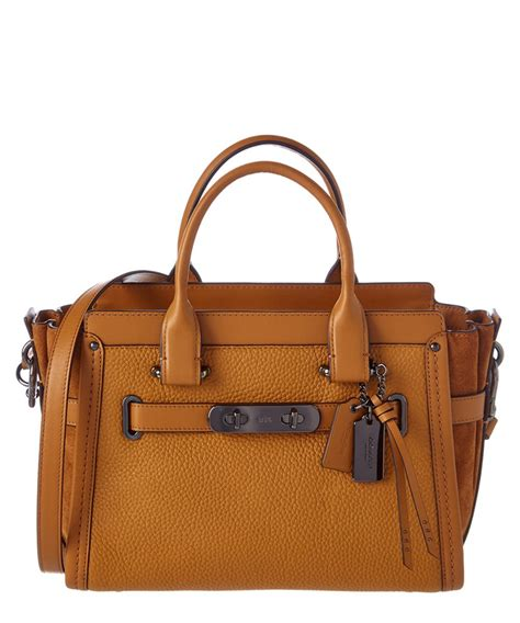 Coach Swagger 27 Embelished coach coach swagger 27 leather satchel bluefly