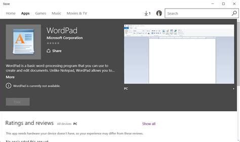 wordpad for android microsoft releases windows 10 version of wordpad other classic windows apps