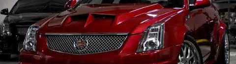 Cadillac Custom Parts Cadillac Custom Hoods Carbon Fiber Fiberglass Scoops