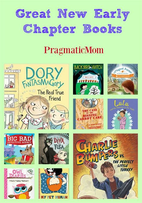 early novels great new early chapter books pragmaticmom